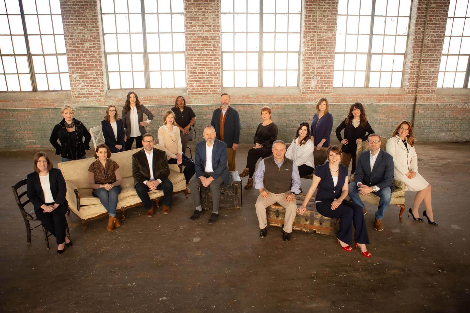 company group photo